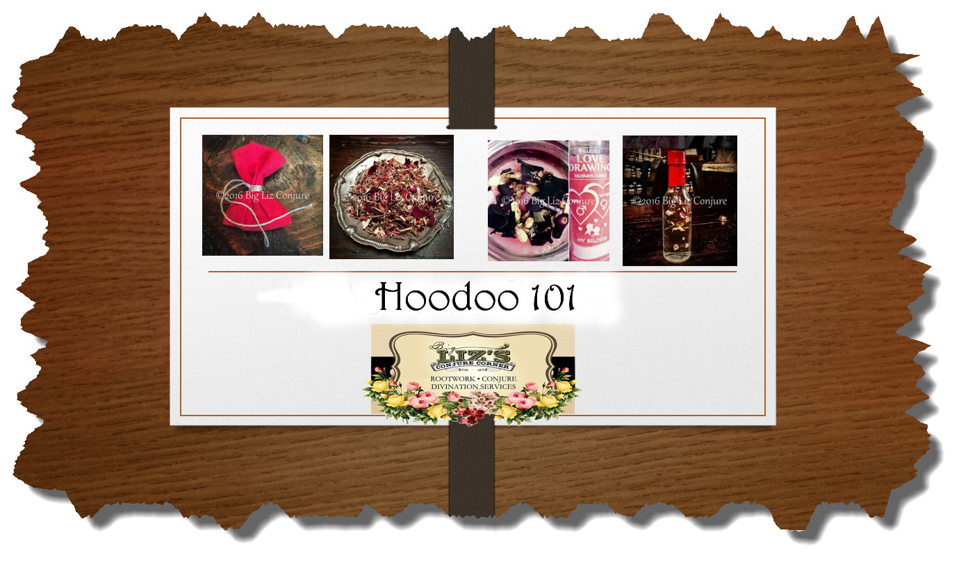 Hoodoo 100s Series for People of Color (101, 102 & 103 ~ Aug  15, 20, and  22, 2019 at 7 PM ET)